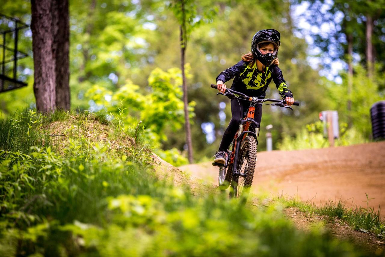 Thunder Mountain Bike Park Berkshire East Lessons and Learn to Ride