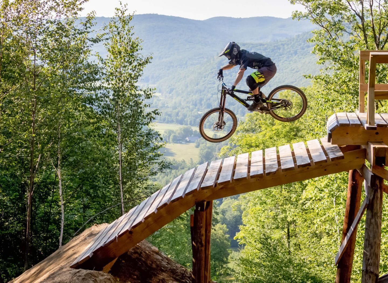 Thunder Mountain Bike Park Info   Berkshire East Mountain Resort