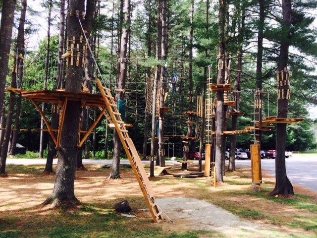 Aerial Adventure Park Berkshire East Mountain Resort